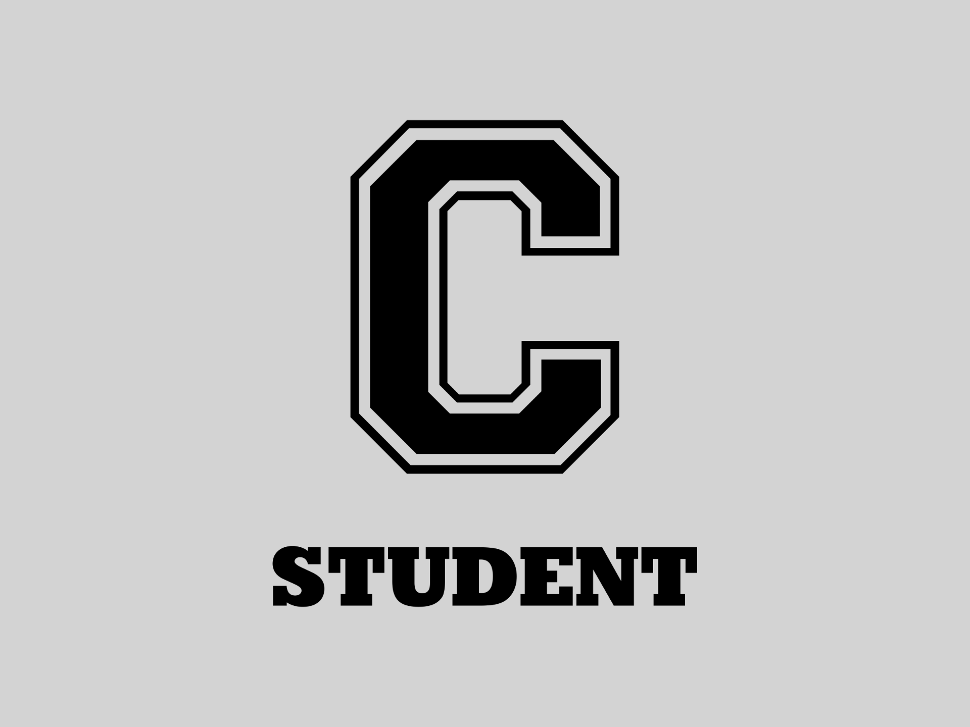The C student T-shirt