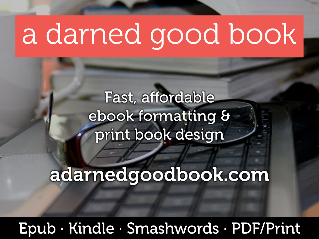 A Darned Good Book: fast, affordable ebook & print formatting by Jesse Gordon